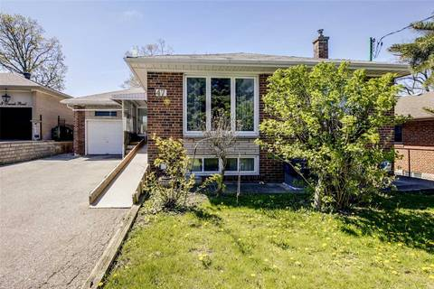 House for sale at 47 Deevale Rd Toronto Ontario - MLS: W4458656