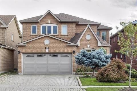 House for sale at 47 Edenbridge Dr Vaughan Ontario - MLS: N4457860