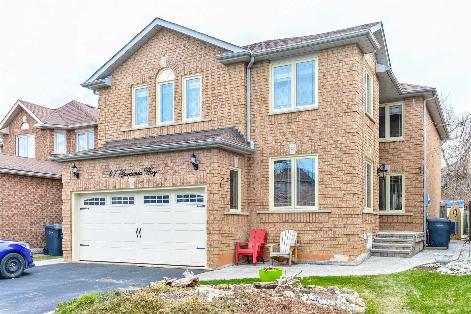 House for sale at 47 Gardenia Way Caledon Ontario - MLS: W4327557