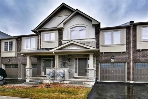 Townhouse for sale at 47 Heaven Cres Milton Ontario - MLS: W4605651