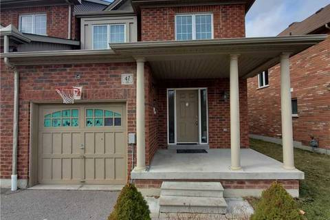 Townhouse for sale at 47 Luce Dr Ajax Ontario - MLS: E4727585