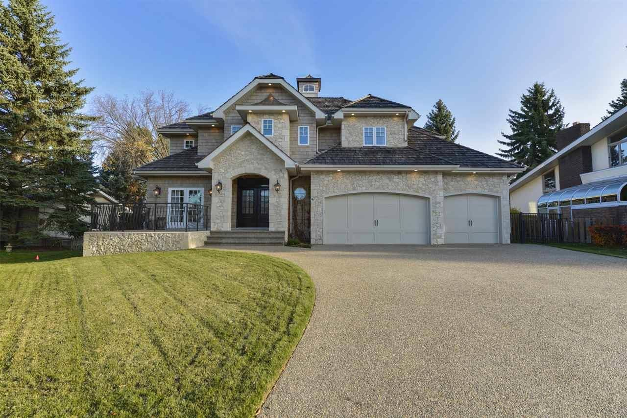 House for sale at 47 Marlboro Rd Nw Edmonton Alberta - MLS: E4177625