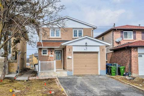 House for sale at 47 Mercedes Dr Toronto Ontario - MLS: W4387650