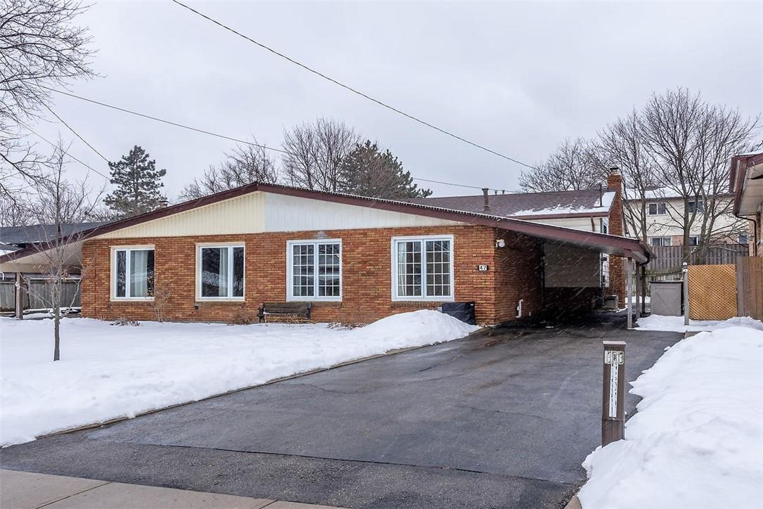 Removed: 47 Morgan Road, Hamilton, ON - Removed on 2020-02-21 05:24:21