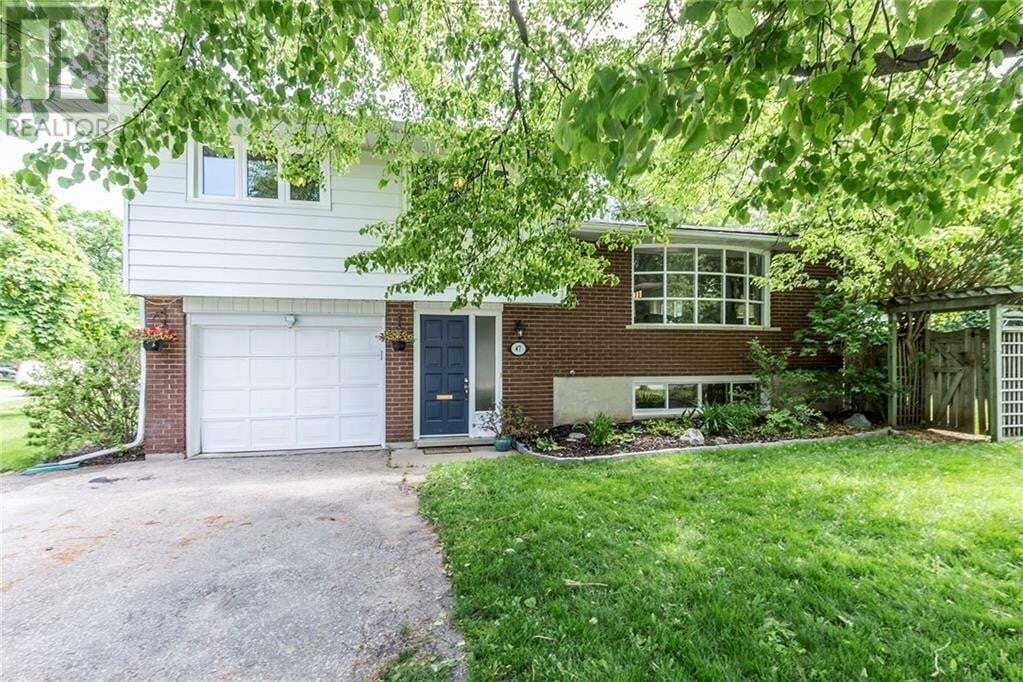 House for sale at 47 Nicklin Cres Guelph Ontario - MLS: 30810943
