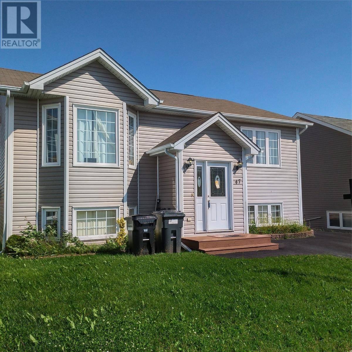 House for sale at 47 Otter Dr St. John's Newfoundland - MLS: 1197209