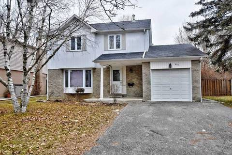 House for sale at 47 Penwick Cres Richmond Hill Ontario - MLS: N4461537
