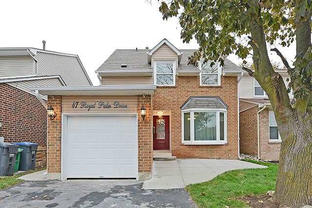 For Sale: 47 Royal Palm Drive, Brampton, ON   4 Bed, 4 Bath House for $699,000. See 20 photos!