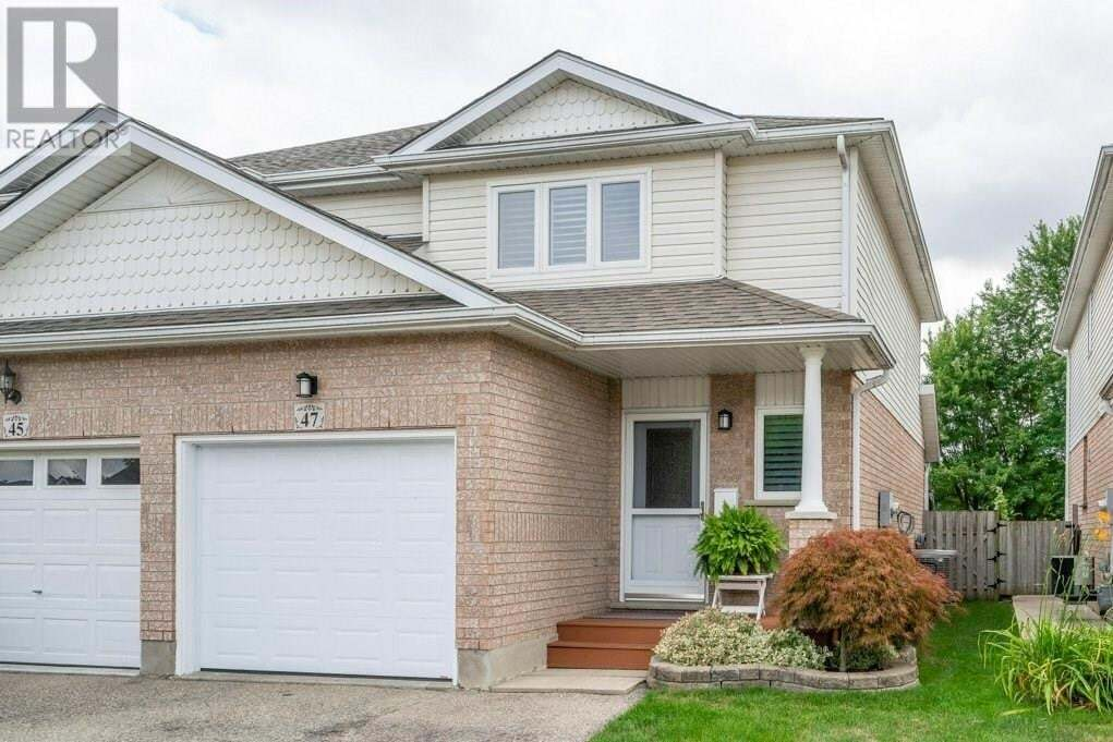 House for sale at 47 Watercress Ct Kitchener Ontario - MLS: 30824140