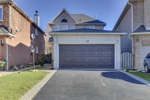 House for sale at 47 Waterford Cres Hamilton Ontario - MLS: X4716781