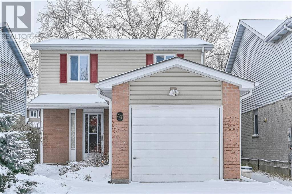 House for sale at 47 Wycliffe Pl Kitchener Ontario - MLS: 30780383