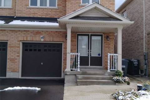 Townhouse for sale at 47 Yardley Cres Brampton Ontario - MLS: W4717874