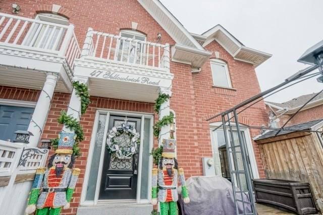 House for sale at 47 Yellow Brick Road Brampton Ontario - MLS: W4314136