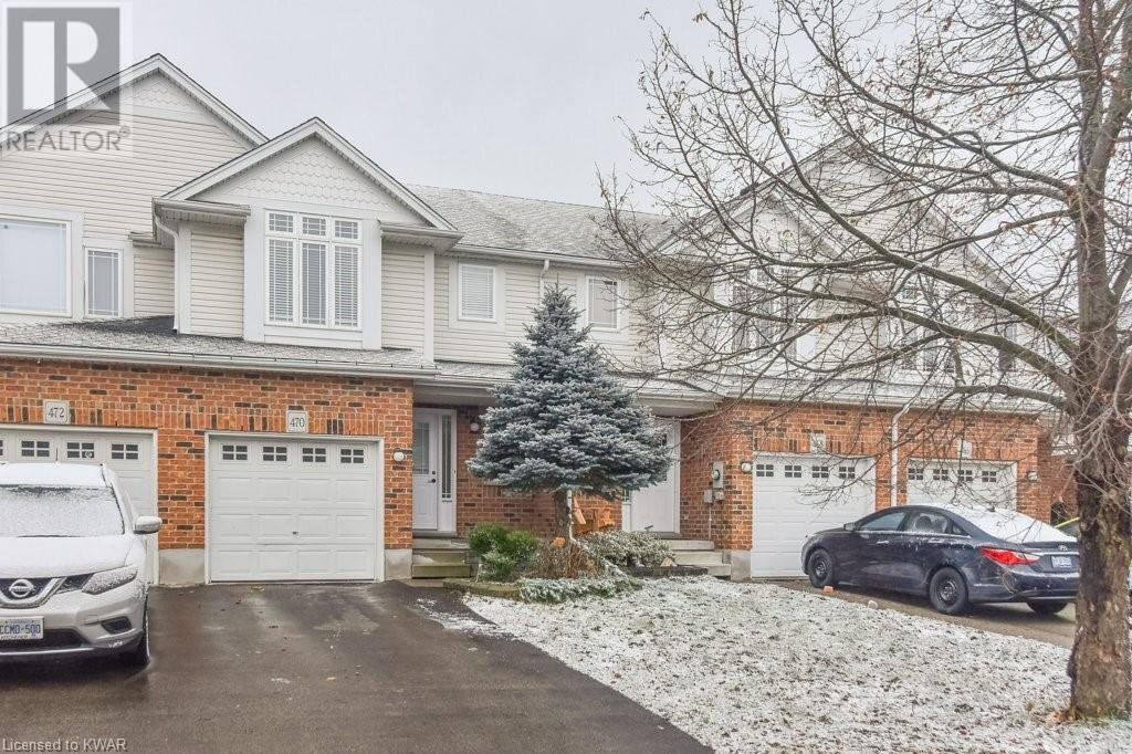Townhouse for sale at 470 Annapolis Ct Waterloo Ontario - MLS: 40057706