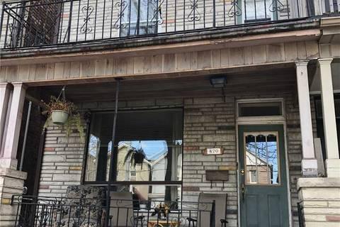 Townhouse for sale at 470 Lansdowne Ave Toronto Ontario - MLS: C4431987