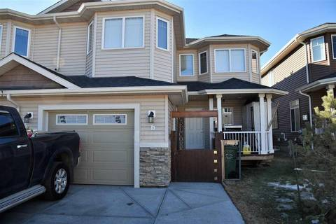 Townhouse for sale at 4703 49 Ave Leduc Alberta - MLS: E4151542