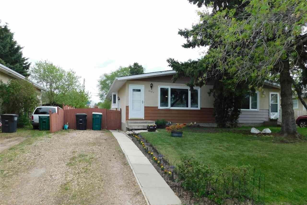 Townhouse for sale at 4707 53 Av Bon Accord Alberta - MLS: E4198655