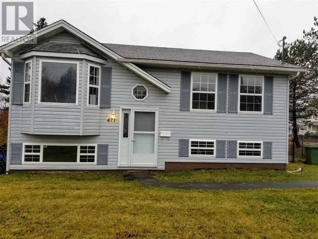 House for sale at 471 Caldwell Rd Cole Harbour Nova Scotia - MLS: 201925906