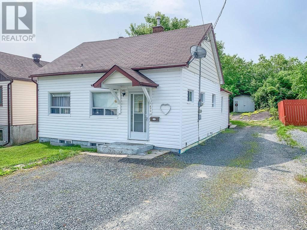 House for sale at 471 Morris  Sudbury Ontario - MLS: 2077534