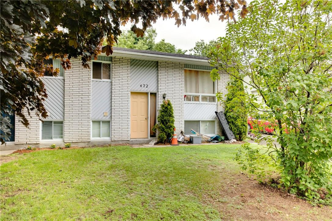 For Sale: 472 Dalrymple Drive, Rockland, ON | 3 Bed, 2 Bath House for $209,900. See 2 photos!