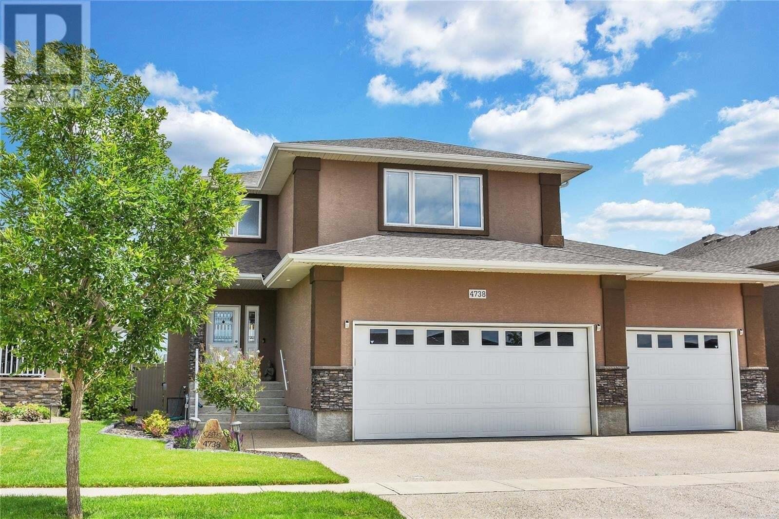 House for sale at 4738 Sandpiper Cres E Regina Saskatchewan - MLS: SK817608