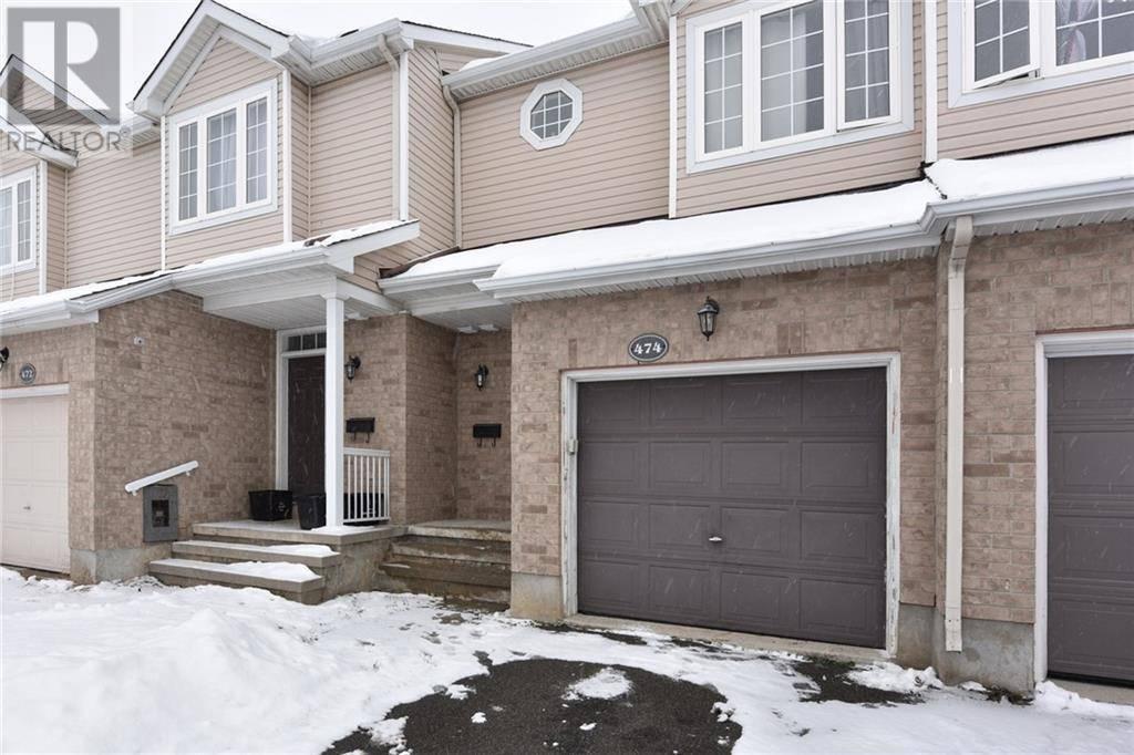 Townhouse for sale at 474 Claridge Dr Ottawa Ontario - MLS: 1175552