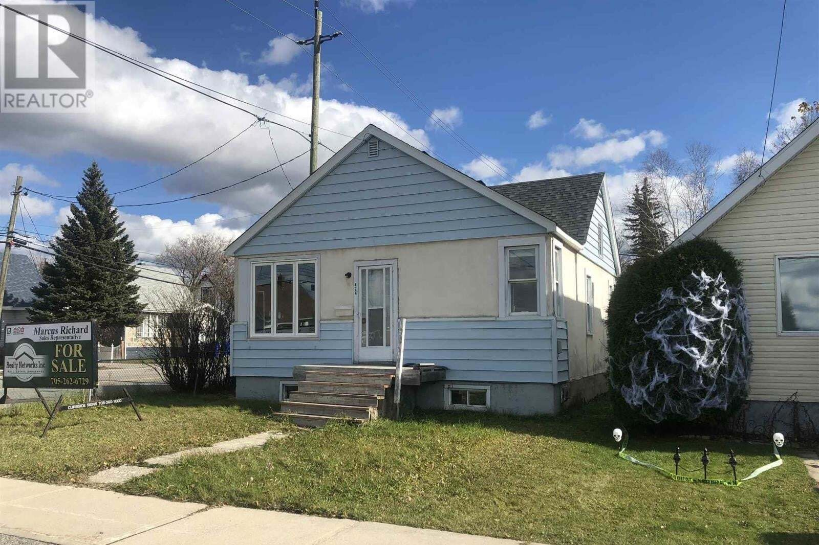 House for sale at 474 Spruce St N Timmins Ontario - MLS: TM202128