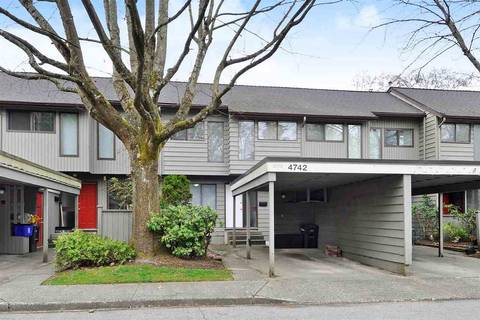 Townhouse for sale at 4742 Laurelwood Pl Burnaby British Columbia - MLS: R2352959