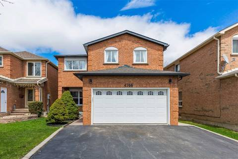 House for sale at 4746 Antelope Cres Mississauga Ontario - MLS: W4432780