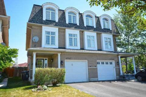 Townhouse for sale at 4747 Glasshill Grve Mississauga Ontario - MLS: W4813488