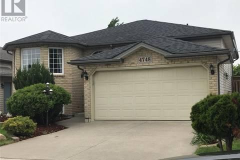 House for sale at 4748 Juliet  Windsor Ontario - MLS: 19019697