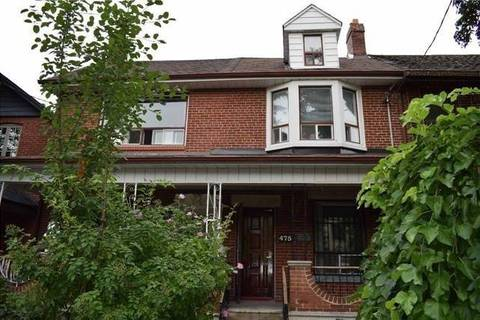 Townhouse for rent at 475 Clinton (main) St Toronto Ontario - MLS: C4602886