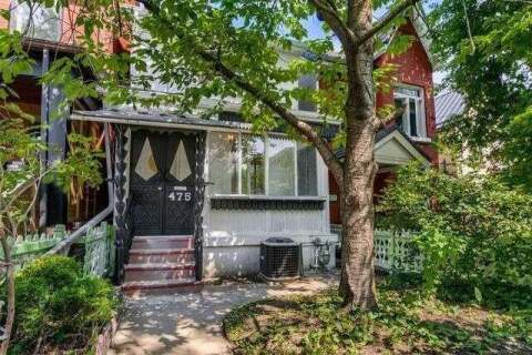 House for sale at 475 Delaware Ave Toronto Ontario - MLS: W4869416