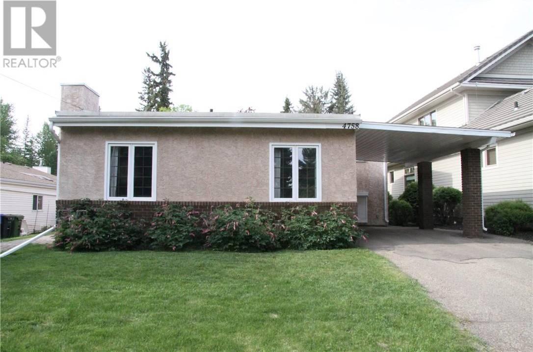 House for sale at 4758 56 St Red Deer Alberta - MLS: ca0178072