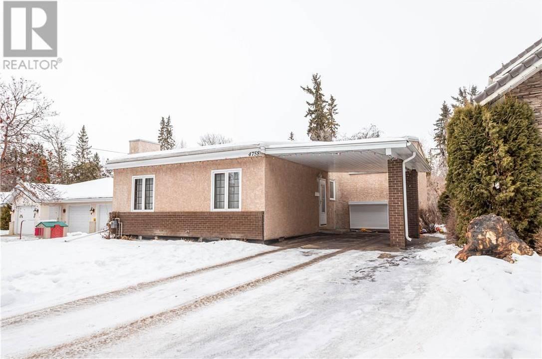 House for sale at 4758 56 St Red Deer Alberta - MLS: ca0185311