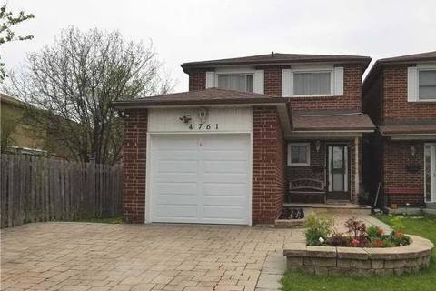 House for sale at 4761 Empire Cres Mississauga Ontario - MLS: W4449371
