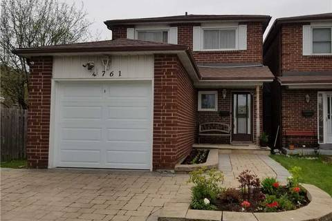 House for sale at 4761 Empire Cres Mississauga Ontario - MLS: W4749030