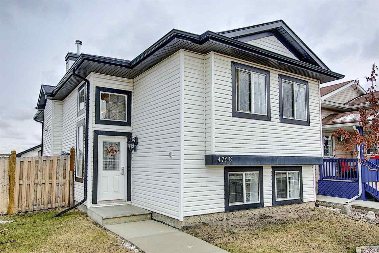 House for sale at 4768 156 Av NW Edmonton Alberta - MLS: E4218885