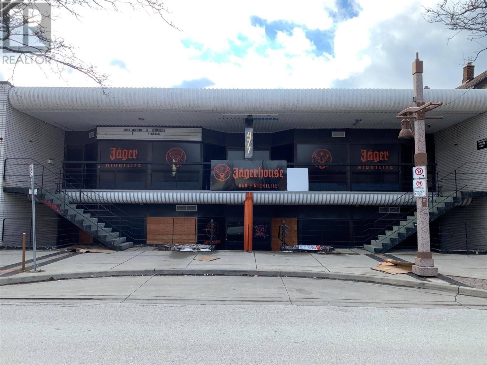 House for sale at 477 Pelissier St Windsor Ontario - MLS: 20001946