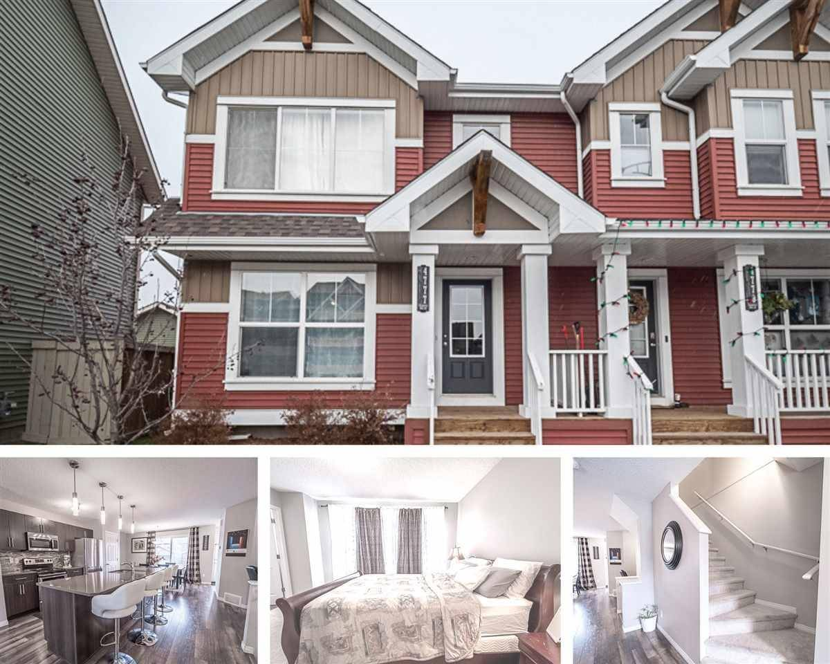 Townhouse for sale at 4777 Crabapple Ru  Sw Edmonton Alberta - MLS: E4188545