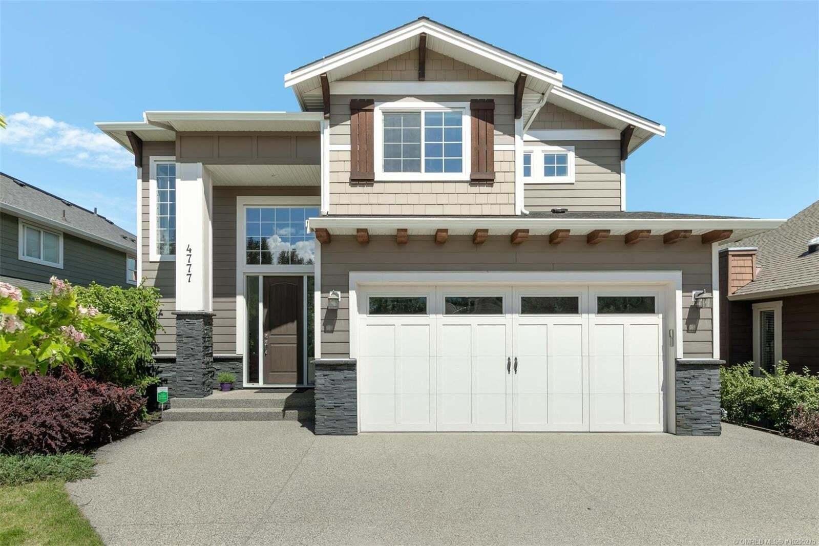 House for sale at 4777 Dillon Pl Kelowna British Columbia - MLS: 10205275