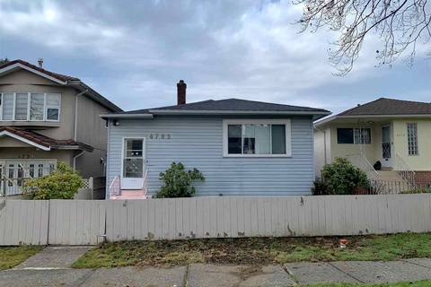 House for sale at 4785 Little St Vancouver British Columbia - MLS: R2424965