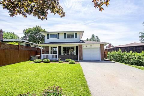 House for sale at 479 Lanark Dr Oshawa Ontario - MLS: E4484472