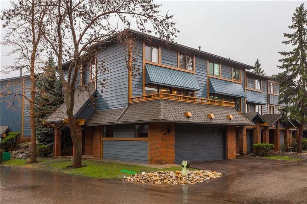 Townhouse for sale at 10030 Oakmoor Wy SW Unit 48 Oakridge, Calgary Alberta - MLS: C4297070