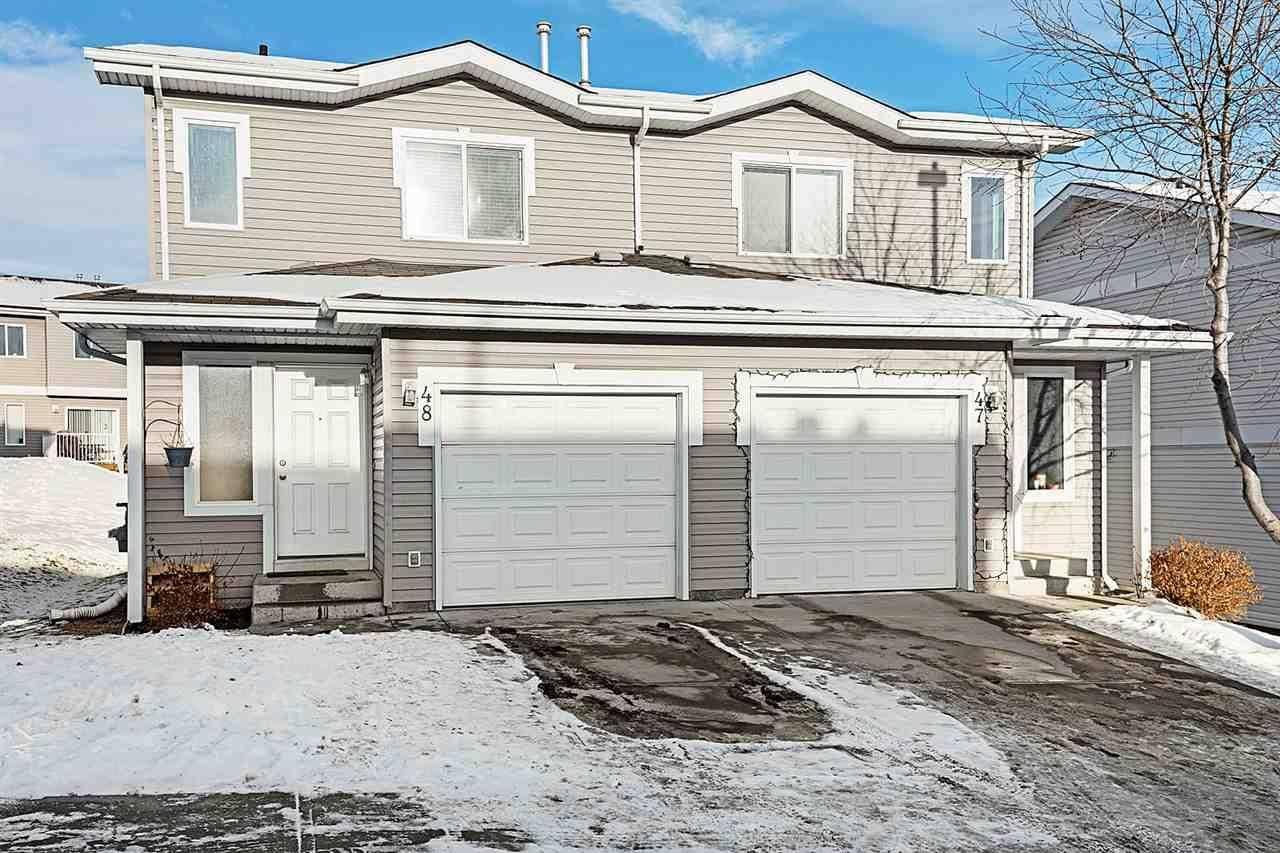 Townhouse for sale at 130 Hyndman Cres Nw Unit 48 Edmonton Alberta - MLS: E4182974