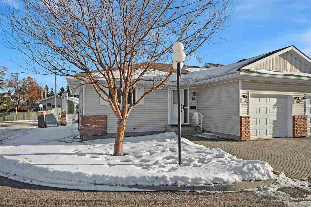 Townhouse for sale at 2 Georgian Wy Unit 48 Sherwood Park Alberta - MLS: E4222672