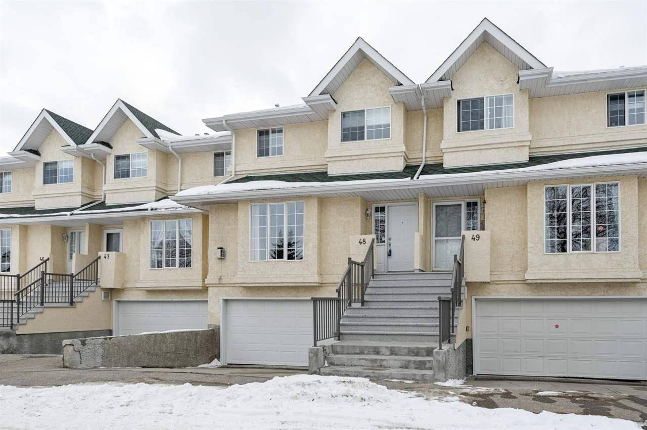Townhouse for sale at 2419 133 Ave Nw Unit 48 Edmonton Alberta - MLS: E4191149