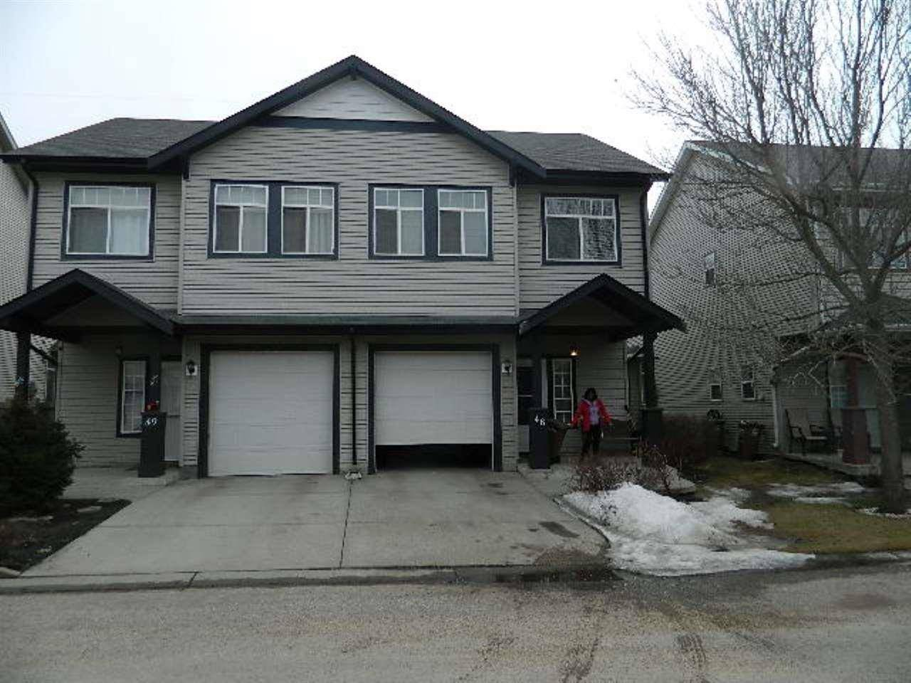 Townhouse for sale at 30 Levasseur Rd Unit 48 St. Albert Alberta - MLS: E4157406