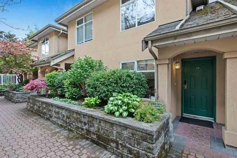 Townhouse for sale at 3468 Terra Vita Pl Unit 48 Vancouver British Columbia - MLS: R2454973