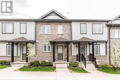 Townhouse for sale at 350 Dundas St Unit 48 Cambridge Ontario - MLS: 30736677